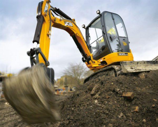 JCB 8025 excavator