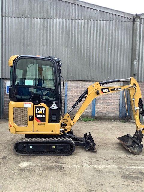 CAT mini excavator 301.6