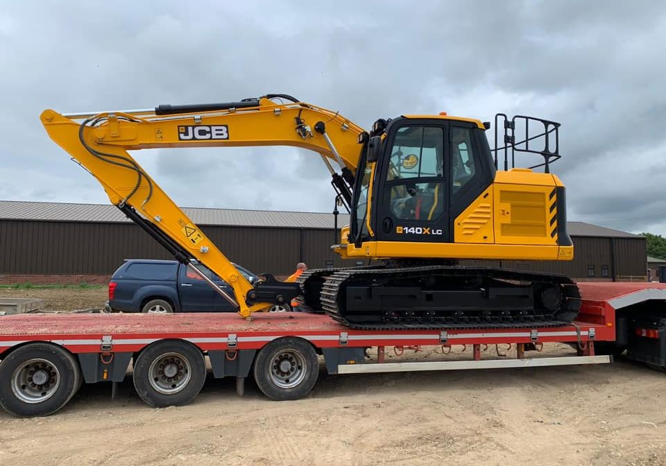 norris plant hire delivery